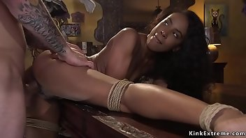 Bus Hardcore Outdoor Interracial