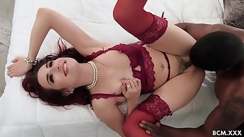 Glamour Stockings Hardcore Interracial