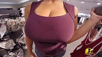Dress Boobs European Blonde