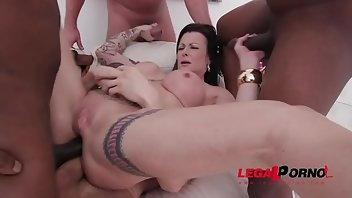 Creampie Eating Anal Interracial MILF