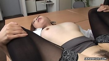Exam Stockings Blowjob Brunette
