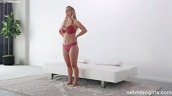 Audition Blonde Riding Amateur