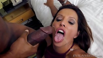 Beach Latina Interracial MILF