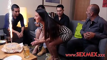 Mexican Latina MILF Threesome
