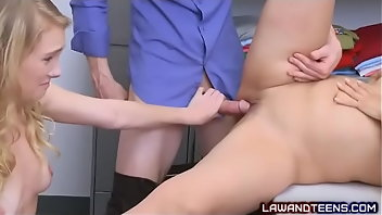 Rubber Teen Hardcore Blonde