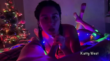 Xmas Blowjob POV Cum In Mouth
